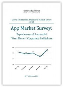 App Market Survey Experience of Successful First Mover Pub Cover
