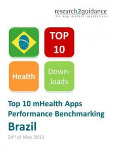 Brazil Top 10 mHealth Apps Report Cover