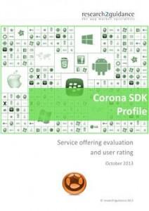 Corona SDK Report Cover