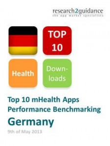 Germany Top 10 mHealth Apps Report Cover