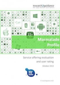 Marmalade Report Cover