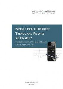 Mobile Health Trends and Figures 2013-17 Report Cover