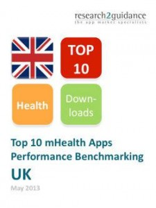 UK Top 10 mHealth Apps Report Cover