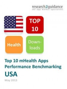 US Top 10 mHealth Apps Report Cover