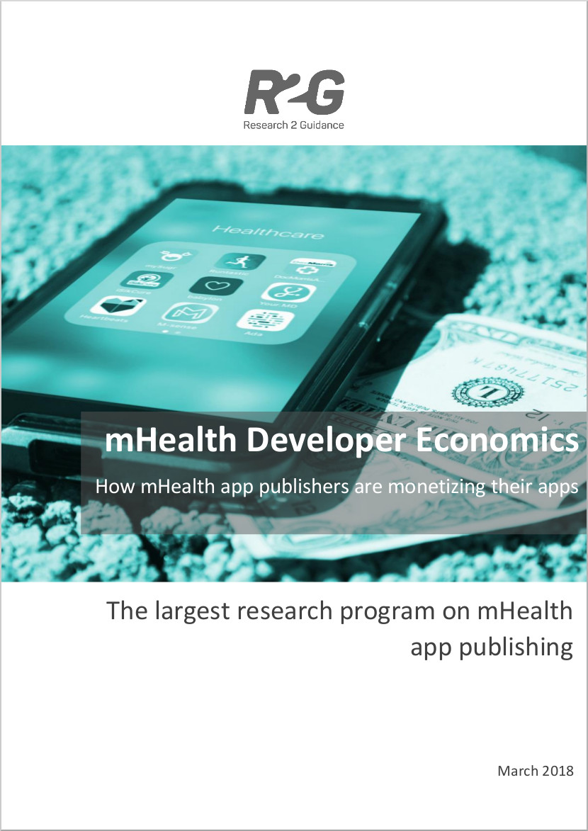 mHealth-Developer-Economics-2017- How to Monetize mHealth Apps - Cover